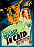 "Movie Posters:Crime, The Big Shot (Warner Brothers, 1949). First Post-War Release FrenchGrande (44.5"" X 60.75"").. ..."