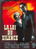 """Movie Posters:Hitchcock, I Confess (Warner Brothers, 1953). French Grande (44.5"""" X 60.5"""")....."""