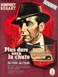 "Movie Posters:Drama, The Harder They Fall (Columbia, 1956). French Grande (45"" X 60"")....."