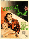 """Movie Posters:Mystery, Star of Midnight (RKO, 1936). French Grande (47"""" X 63"""").. ..."""