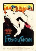 """Movie Posters:Musical, French Cancan (Gaumont, 1955). French Grande (45"""" X 62.25"""") Style B.. ..."""