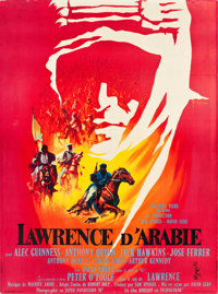 "Lawrence of Arabia (Columbia, 1962). French Grande (46"" X 62.5"") Style A"