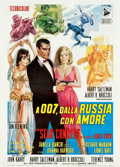 "Movie Posters:James Bond, From Russia with Love (United Artists, 1964). Italian 2 - Foglio(39.5"" X 55"").. ..."