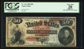 Large Size:Legal Tender Notes, Fr. 151 $50 1869 Legal Tender PCGS Apparent Very Fine 20.. ...