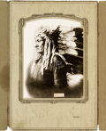 American Indian Art:Photographs, Sitting Bull: A Stunning Huge Signed Photo by D. F. Barry. ...