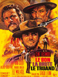 "Movie Posters:Western, The Good, the Bad and the Ugly (United Artists, 1968). French Grande (46"" X 61"").. ..."