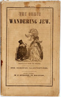 Books:Americana & American History, Charles Philipon and Louis Huart. The Comic Wandering Jew.New York: W.F. Burgess, 1850. Printed wrappers. Some hand...