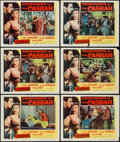"""Movie Posters:Adventure, Prisoners of the Casbah & Other Lot (Columbia, 1953). LobbyCards (12) (11"""" X 14""""). Adventure.. ... (Total: 12 Items)"""
