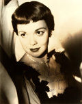 "Autographs:Celebrities, Jane Wyman (1917-2007, American actress) Photograph Signed. Nodate. Sepia. Measures 8"" x 10"". Very minor edgewear. Near fin..."