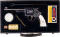 Handguns:Double Action Revolver, Cased and Engraved Fine Smith & Wesson Hand Ejector Double Action Revolver and Accessories.. ...