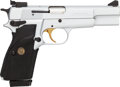 Handguns:Semiautomatic Pistol, Cased Belgian Browning Hi-Power Single Action Pistol with Extra Magazine....
