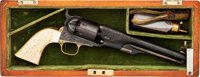 Custom Engraved Colt Model 1861 Navy Percussion Revolver