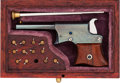 Handguns:Derringer, Palm, Cased Miniature Remington Vest Pocket Derringer by L.M.Smith....