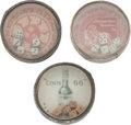 Advertising:Pocket Mirrors & Pinbacks, Three Pocket Dice Game Mirrors.... (Total: 3 Items)