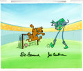 Animation Art:Presentation Cel, Scooby Doo and Dynomutt Presentation Cel (Hanna-Barbera, 1977).... (Total: 2 Items)