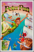 """Movie Posters:Animation, Peter Pan & Others Lot (Buena Vista, R-1989). One Sheets (3)(27"""" X 41""""). Animation.. ... (Total: 3 Items)"""
