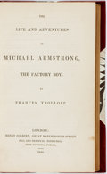Books:Literature Pre-1900, Frances Trollope. The Life and Adventures of Michael Strong, theFactory Boy. London: Henry Colburn, 1840. Modern th...