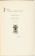 Books:Literature Pre-1900, Thomas Hardy. Jude the Obscure. [London: Osgood, McIlvaine,1896]. First edition. Publisher's blue cloth with gilt t...