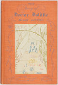 Books:Literature 1900-up, Hugh Lofting. The Story of Doctor Dolittle. New York:Frederick A. Stokes, 1920. First edition, first printing. Publ...