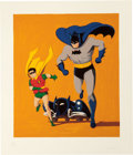 Prints, MEL RAMOS (American, b. 1935). Batmobile, 1962. Screenprint in colors. 35-1/2 x 30 inches (90.2 x 76.2 cm) (sheet). Ed. ...