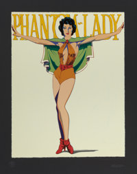 MEL RAMOS (American, b. 1935) Phantom Lady, 1962 Screenprint in colors 37-3/8 x 30 inches (94.9 x
