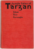Books:Science Fiction & Fantasy, Edgar Rice Burroughs. INSCRIBED. Jungle Tales of Tarzan. New York: Grosset & Dunlap, [1919]. Reprint. Inscribed by...