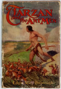 Books:Science Fiction & Fantasy, Edgar Rice Burroughs. Tarzan and the Ant Men. Chicago: A. C. McClurg, 1924. First edition, first printing. Publisher...