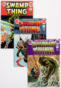 Bronze Age (1970-1979):Horror, Swamp Thing #1-24 Complete Series Group (DC, 1972-76) Condition:Average FN+.... (Total: 24 Comic Books)