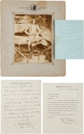 Military & Patriotic:Indian Wars, Indian Wars Era: An Interesting Group Lot. ... (Total: 6 Items)