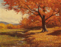 Paintings, ROBERT WILLIAM WOOD (American, 1889-1979). A Corner of Vermont. Oil on canvas. 16 x 20 inches (40.6 x 50.8 cm). Signed l...