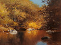 Paintings, ROBERT WILLIAM WOOD (American, 1889-1979). Liquid Amber. Oil on artists' board. 12 x 16 inches (30.5 x 40.6 cm). Signed ...