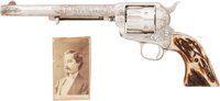 Superb 1879-delivered Colt Single Action Army Revolver, Attributed to a New Mexico Trading Post Agent