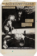 Original Comic Art:Splash Pages, Bill Sienkiewicz New Mutants #24 Page 1 Original Art(Marvel, 1985)....