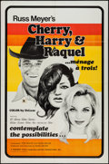 "Movie Posters:Sexploitation, Cherry, Harry & Raquel (Eve Productions, 1970). One Sheet (27""X 41"") & Photos (6) (8"" X 10""). Sexploitation.. ... (Total: 7Items)"
