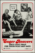 "Movie Posters:Sexploitation, The Swinging Barmaids & Other Lot (MPM, R-1980). One Sheets (2)(27"" X 41""). Sexploitation. Re-Release Title: Eager Beaver...(Total: 2 Items)"