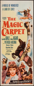 "Movie Posters:Adventure, The Magic Carpet (Columbia, 1951). Insert (14"" X 36""). Adventure....."