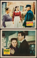 """Movie Posters:Drama, How Green Was My Valley (20th Century Fox, 1941/R-1946). Lobby Cards (2) (11"""" X 14""""). Drama.. ... (Total: 2 Items)"""