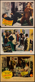"Movie Posters:Comedy, The Talk of the Town & Others Lot (Columbia, 1942). Lobby Cards (3) (11"" X 14""). Comedy.. ... (Total: 3 Items)"