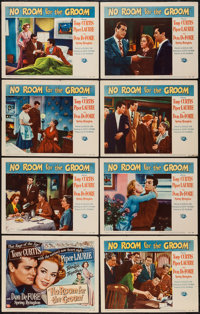 """No Room for the Groom (Universal International, 1952). Lobby Card Set of 8 (11"""" X 14""""). Comedy. ... (Total: 8..."""