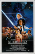 "Movie Posters:Science Fiction, Return of the Jedi (20th Century Fox, 1983). One Sheet (27"" X 41""),Style B. Science Fiction.. ..."