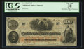Confederate Notes:1862 Issues, T41 $100 1862 PF-26 Cr. UNL.. ...