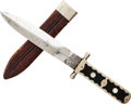 Edged Weapons:Knives, Bowie Knife by Thomas Turner of Sheffield....