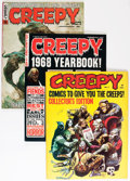 Magazines:Horror, Creepy Group (Warren, 1964-77) Condition: Average FN/VF.... (Total: 28 Comic Books)
