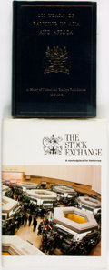 Books:Business & Economics, [Economics]. Pair of Related Titles. The Stock Exchange [and:] 100 Years of Banking in Asia and Africa. Vari... (Total: 2 Items)