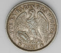 Chile: , Chile: Republic 50 Centavos - Attractive Pair, KM139 1867, choicelightly toned AXF, scarce date and grade, and 1868, toned XFwith... (Total: 2 coins Item)