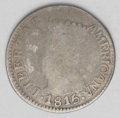 Colombia: , Colombia: Cundinamarca 2 Reales 1815-JF, KM-C4, AG-G, evenly wornwith a clear date and mostly readable legends....