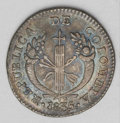 Colombia: , Colombia: Republic - Pair of Bogota Reals, KM87.1, 1835-RS, tonedVF-XF with some gloss remaining in the legends, and 1836-RS, lovely... (Total: 2 coins Item)