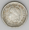 Colombia: , Colombia: Republic 5 Centavos - Scarce Pair, KM174a.1, 1876 Bogota,nice toned AU and a scarce date, and KM174, 1874 Medellin, decent... (Total: 2 coins Item)