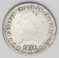 Colombia: , Colombia: Republic 5 Decimos 1878 Popayan, KM153.6, decent VG-F, large planchet lamination on the obverse at 4 o'clock. BC12...