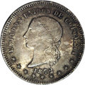 Colombia: , Colombia: Republic 50 Centavos 1872 Bogota, KM172.1, MS64 NGC, asuperb coin with gorgeous old-time toning and full underlying mintbr...